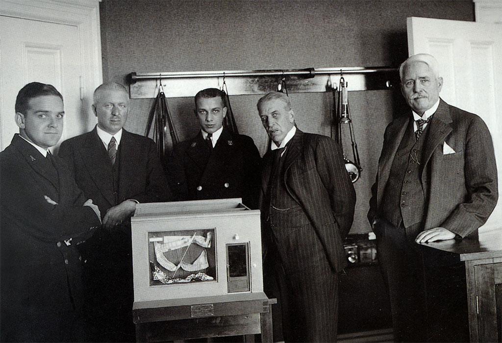 Modell för butikslarm 1935